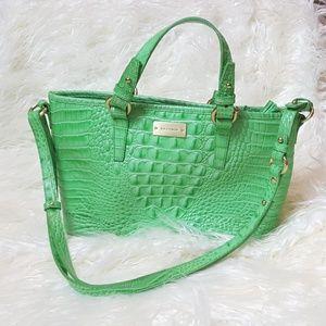 Brahmin mini Asher satchel jadeite / aloe